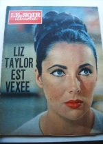 1963 Mag Liz Taylor On Cover