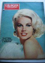 1965 Mag Carroll Baker On Cover
