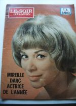 1966 Mag Mireille Darc On Cover