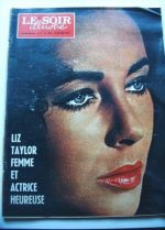 1968 Mag Liz Taylor On Cover