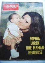 1969 Mag Sophia Loren On Cover