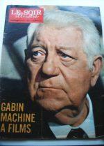 1971 Mag Jean Gabin On Cover