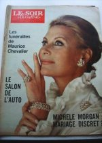 1972 Mag Michele Morgan On Cover
