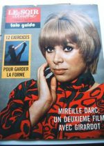 1973 Mag Mireille Darc On Cover