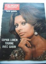 1974 Mag Sophia Loren On Cover