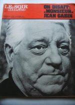 1976 Mag Jean Gabin On Cover