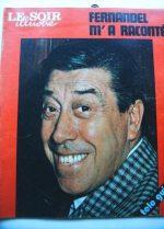 1976 Mag Fernandel On Cover