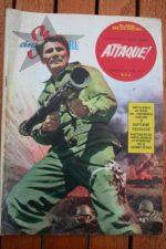 1961 Jack Palance Eddie Albert Lee Marvin Attack +200p