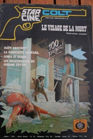 1972 Magazine Le Visage De La Mort Ken Rendall Kenneth Goodred Judith Roberts