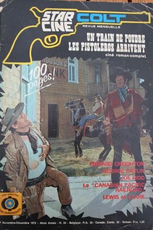 1972 Magazine Sartana Gianni Garko Nieves Navarro Massimo Serato Clint Eastwood