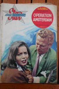 1962 Eva Bartok Peter Finch Operation Amsterdam +200pic