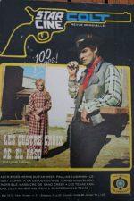 1973 Magazine Los indomables Pedro Armendariz Jr Jorge Russek Jane Sullivan