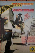 1973 Magazine Los desesperados Ernest Borgnine George Hilton James Coburn