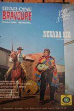 1973 Magazine Nevada Kid Klaus Kinski Jeff Cameron Steve McQueen