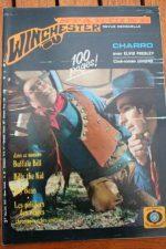 1972 Vintage Photo Novel Elvis Presley Ina Balin Charro