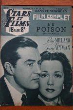 1947 Jane Wyman Ray Milland