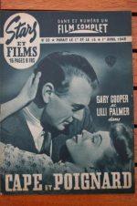 1948 Gary Cooper Lilli Palmer Cary Grant