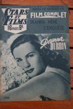 1947 Deanna Durbin Ralph Bellamy Gene Tierney