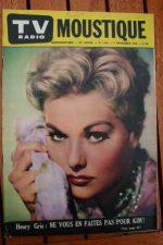 1958 Magazine Kim Novak Paul Anka James Stewart