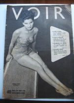 Vintage Magazine 1952 Debra Paget