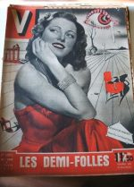 Vintage Magazine 1947 Eleanor Parker