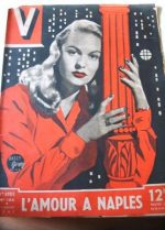 Vintage Magazine 1947 Sally Gray