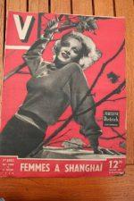 Vintage Magazine 1946 Marlene Dietrich