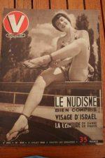 Vintage Magazine 1951 Jacqueline Pierreux