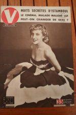 Vintage Magazine 1951 Anouk Ferjac