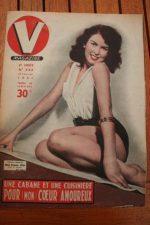 Vintage Magazine 1951 Miss France 1951