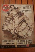 Vintage Magazine 1952 Linda Gloria