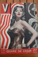 1949 Vintage V Magazine Pin-Up Jean David