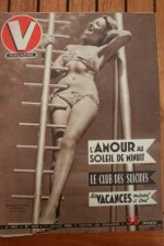 51 Vintage V Magazine Pin-Up J David Jacqueline Francis