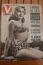 51 Vintage V Magazine Pin-Up J David Christiane Bernari