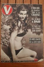 1951 Vintage V Magazine Pin-Up Jean David Annik Muller