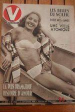 1951 Vintage V Magazine Pin-Up Jean David Odette Hussan