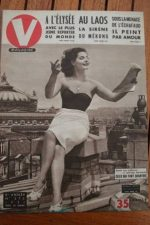 1951 Vintage V Magazine Pin-Up Jean David Michele Mathe