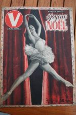1951 Vintage V Magazine Pin-Up Jean David Claude Bessy