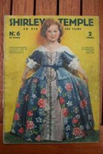 Original 1936 Vintage Magazine Shirley Temple