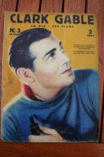 Original 1936 Vintage Magazine Clark Gable