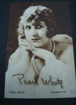 Vintage Postcard Pearl White