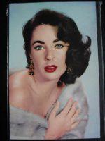 Vintage Postcard Elizabeth Taylor