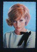 Vintage Postcard Sylvie Vartan
