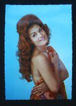 Vintage Postcard Dalida