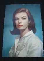 Vintage Postcard Marie Laforet