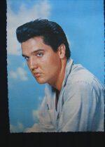 Vintage Postcard Elvis Presley