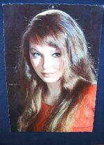 Vintage Postcard Marina Vlady