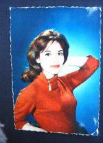 Vintage Postcard Pascale Audret
