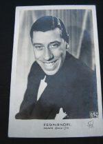 Vintage Postcard Fernandel