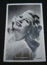 Vintage Postcard Rita Hayworth